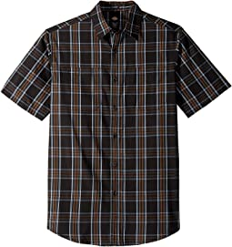 Rinsed Black Plaid