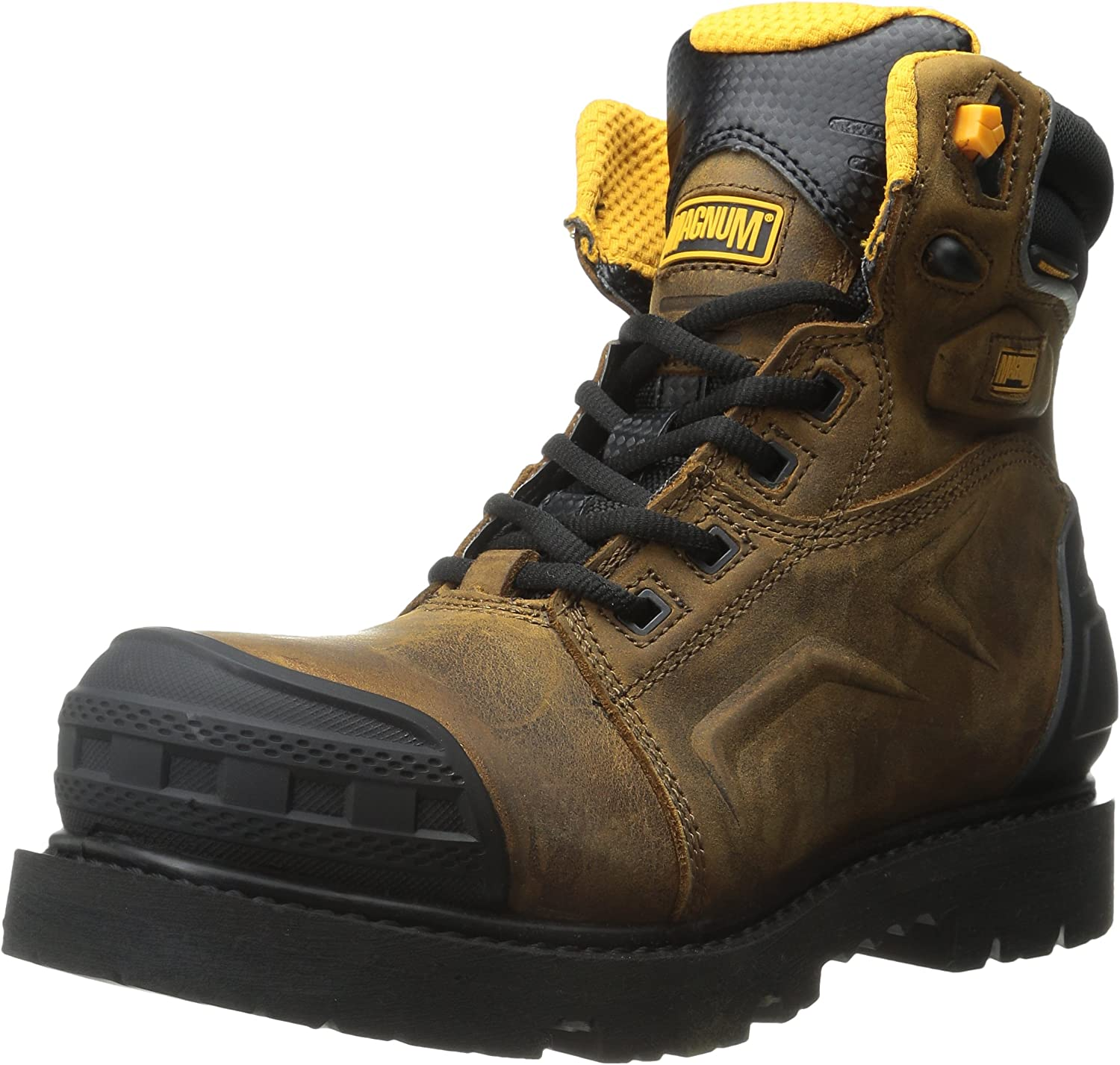Magnum Men's Flint 6.0 Z-Flex Composite Toe Waterproof Work Boot