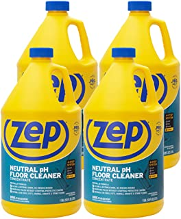 Sponsored Ad - Zep Neutral pH Floor Cleaner 1 Gallon (Case of 4) ZUNEUT128 - Concentrated Pro Trusted All-Purpose Floor Cl...