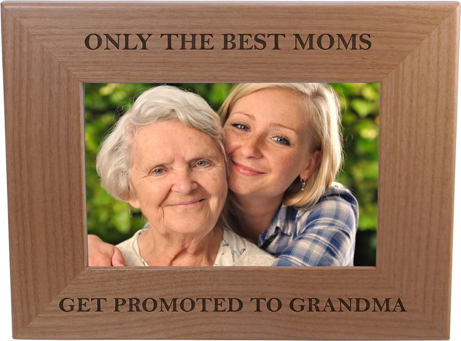 Personalized Picture Frame GIFT for Mothers Day The Best Moms Get Promoted to Grandma  Grandma Grandmother