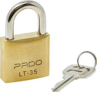 CADEADO LT-35MM, Pado, 51000017, Dourado