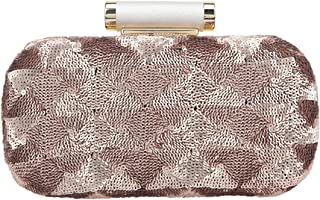 Bonjanvye Fashion Sequin Clutch Evening Bag for Women