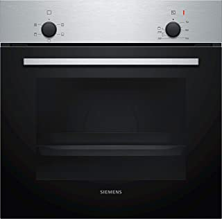 Siemens IQ 100, 60 cm Built in Oven with 4 Cooking Modes,Optimal Heat for Best Baking Results, Stainless steel, H010FBR1M,...