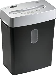 Dahle PaperSAFE 22022 Paper Shredder, Oil Free, Security Level P-4, 7 Sheet Max, Shreds Staples, Paper Clips & Credit Cards