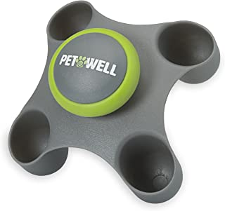 PetWell Therapeutic Handheld Massager for Soothing and Calming Anxiety in All Size Pets (Dogs, Cats)