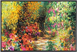 Wash&Dry Doormat, Acrylic, Colourful, 50 x 75 x 0.7 cm