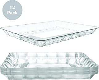 disposable plastic food trays
