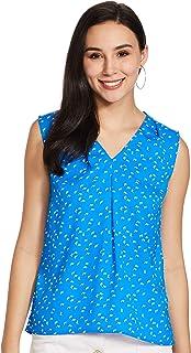 Amazon Brand - Symbol Women's Animal Print Regular fit Shirt