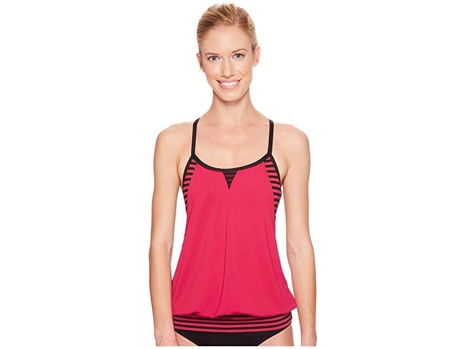 Nike Laser Sport Tankini Top (Sport Fuchsia) Women