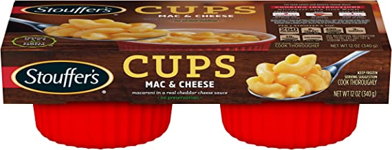 Stouffer's Classic Mac & Cheese Meal Cup No Preservatives 12 oz, Pack of 6