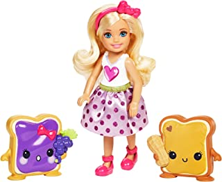 Barbie Dreamtopia Sweetville Kingdom Chelsea & Sandwich Friend Doll