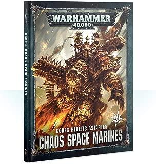 Games Workshop Warhammer 40,000: Codex: Chaos Space Marines 2 Hardcover