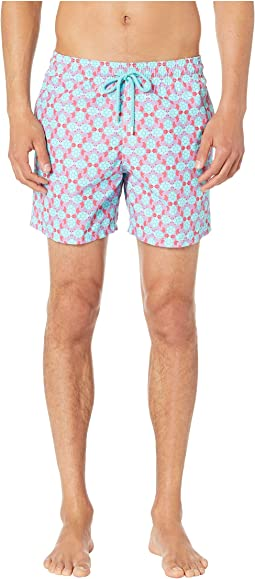 Moorea Data Turtles Swim Trunks