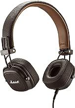 marshall major on ear headphones black