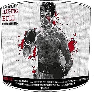 30cm raging bull boxing lampekap11 Voor een tafellamp