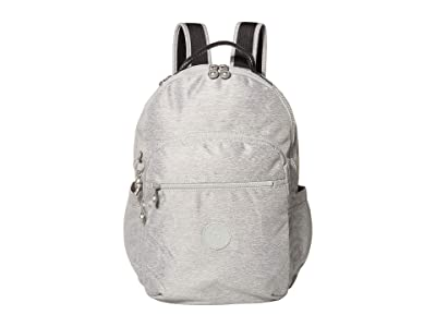 Kipling Seoul Laptop Backpack (Chalk Grey) Backpack Bags