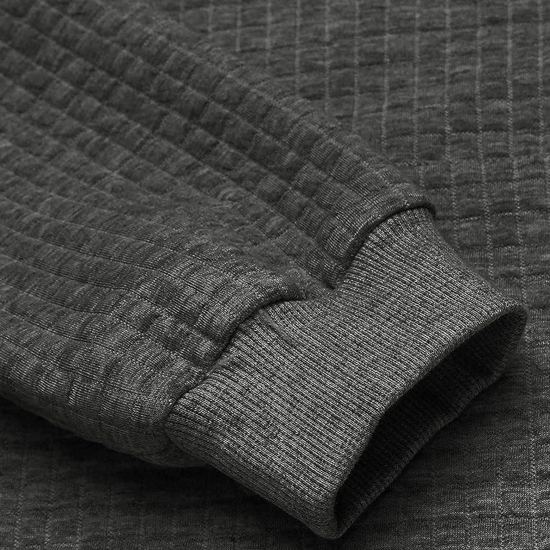 Hoodies for Men Men's Autumn Slim Casual Plaid Hooded Long Sleeve Sweatshirts Top Fashion Hoodies & Sweatshirts Blouse