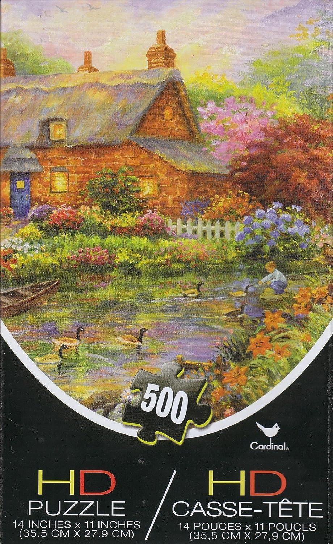 Cottage 500 Piece HD Puzzle