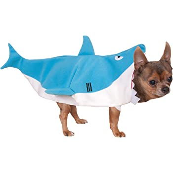 Rubie's Costume Company Shark Pet Costume, Small
