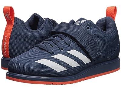 adidas Powerlift 4 (Tech Ink/Footwear White/Hi-Res Coral) Women