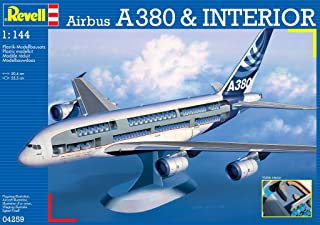 Revell Airbus A3800 Visible Interior
