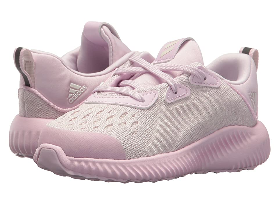 adidas Kids Alphabounce EM I (Toddler) (Aero Pink/Chalk White) Girls Shoes