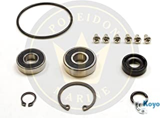 Poseidon Marine Water Pump Repair kit for Yanmar 2GM20-YEU 3GM30-YEU 2YM15 3YM20 3YM30 Pumps 128377-42500 128397-42500 128990-42500 128990-42510