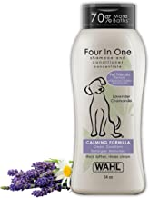 Wahl 4-In-1 Calming Pet Shampoo – Cleans, Conditions, Detangles, & Moisturizes with..