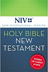 NIV, Holy Bible, New Testament, Red Letter Kindle Edition