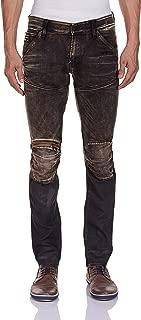 Men's 5620 Super Slim Fit Jean Knee Zip Slander Superstretch Cobler