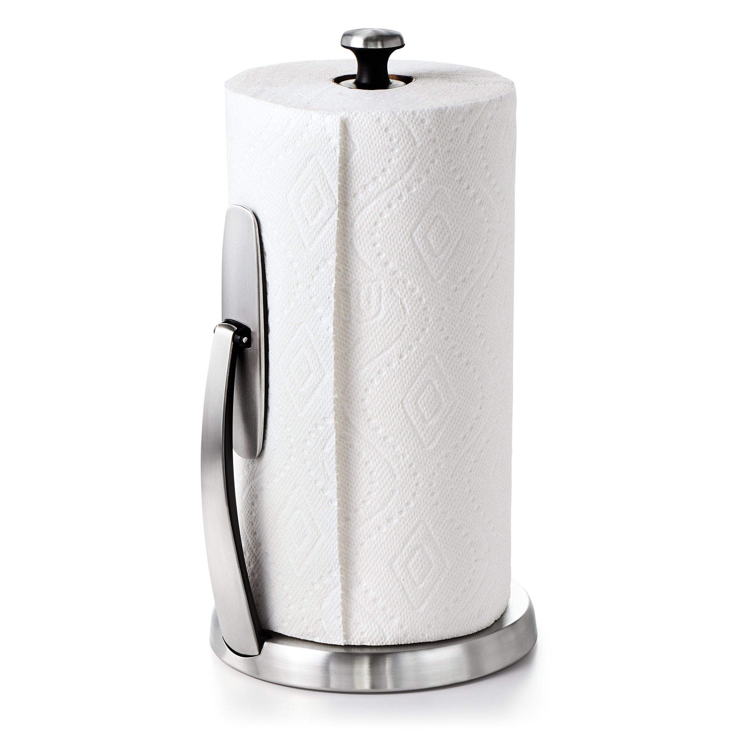 oxo paper towel holder amazon com rh amazon com
