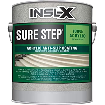 INSL-X SU092209A-01 Sure Step Acrylic Anti-Slip Coating Paint, 1 Gallon, Desert Sand