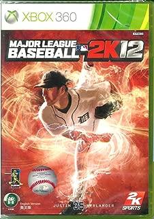Major League Baseball 2k12 Xbox 360 Brand NEW Sealed 2012 MLB 2k 12 (English Language) [Region Free International Edition]