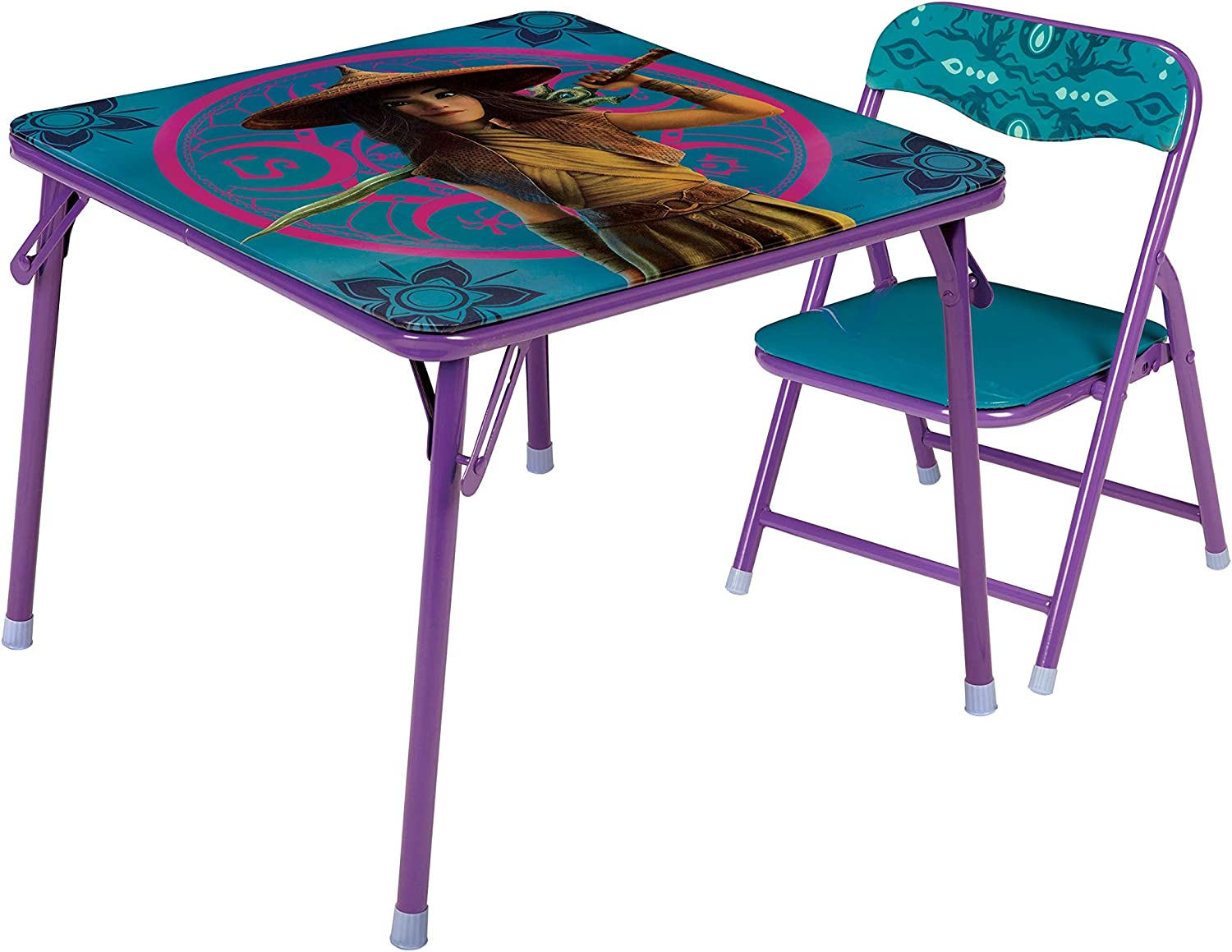 Sales Disney In stock Raya Jr. Activity Table 1 Set Chair with