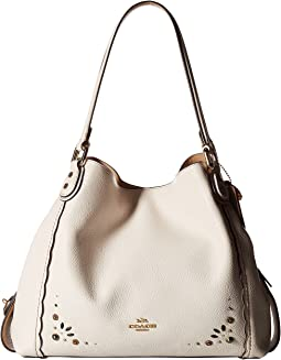 Edie 31 Shoulder Bag with Prairie Rivets