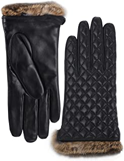 Best fur lined leather gloves women's Reviews