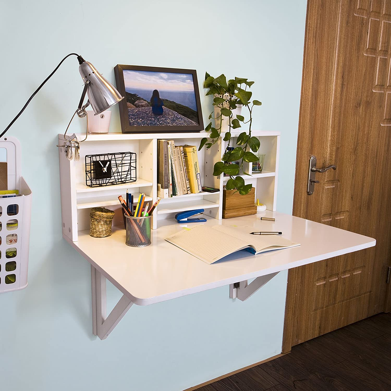 Mesa escritorio plegable para ahorrar espacio