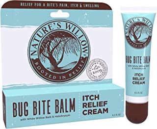 Nature�s Willow Bug Bite Balm, Natural Insect Bite Pain & Itch Relief, 0.5 oz.