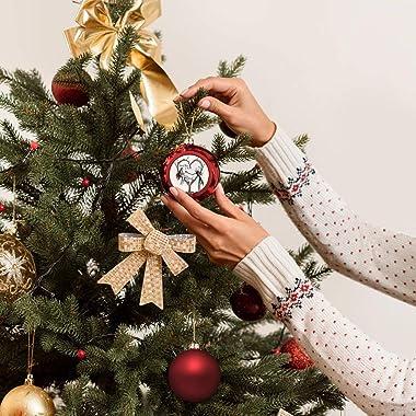 Jack And Sally Nightmare Before Christmas Christmas Balls Decoration Christmas Tree for Family Home Shopping Mall Club Hangin