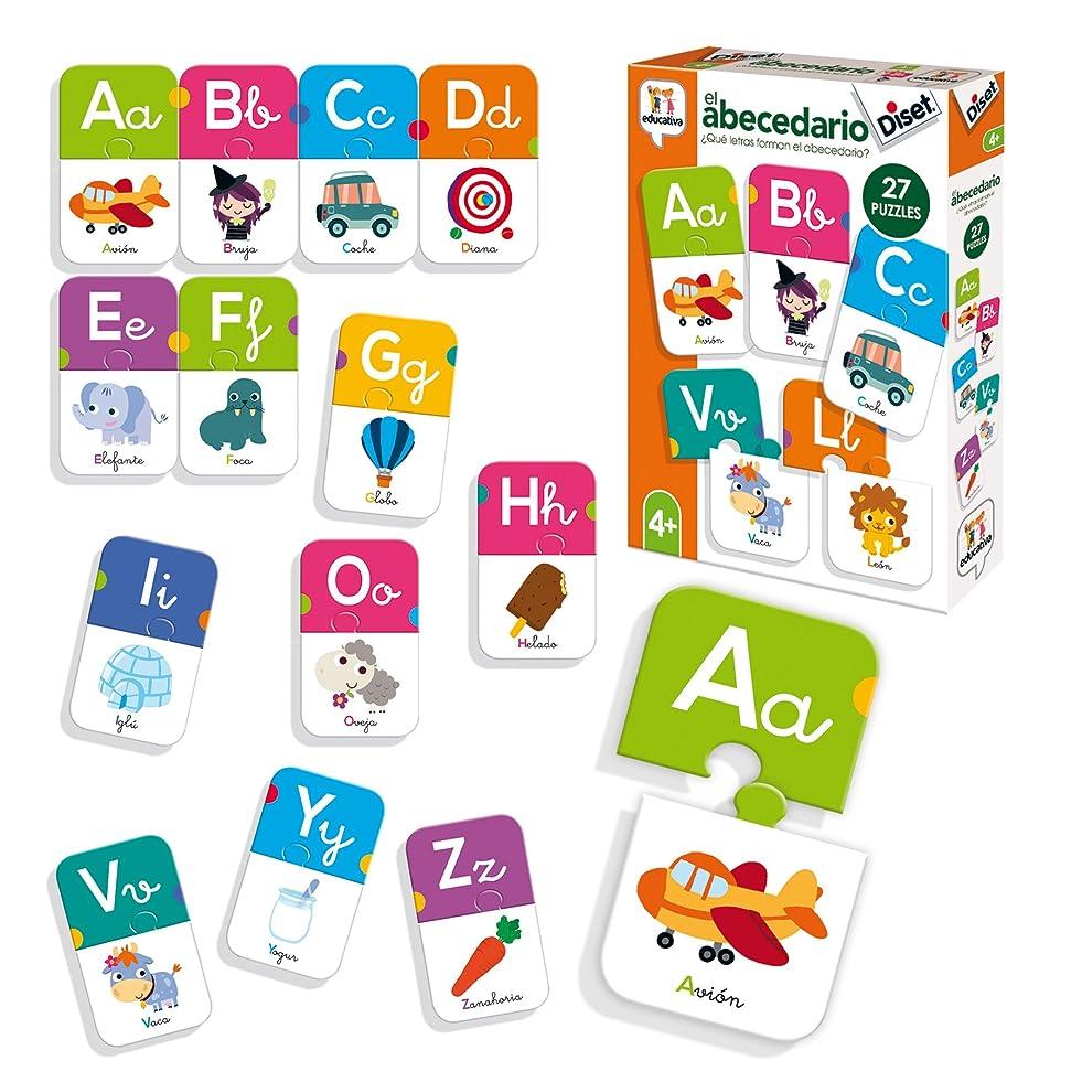 休憩後方に物語Diset - 教育玩具 アルファベット (68963)