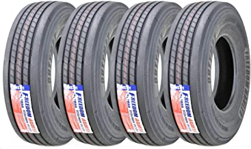 Set of 4 New FH Dutymax All Steel ST235/80R16 14PR RV Trailer Tires Load Range G