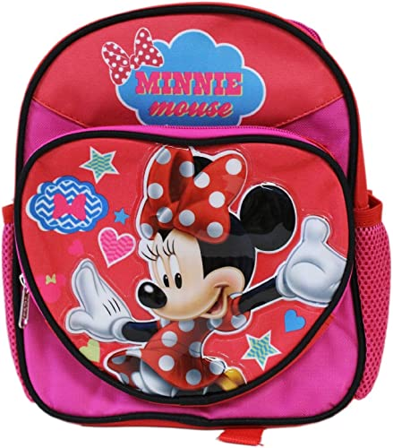 Mini Größe rot Minnie Mouse Heart Kids Backpack