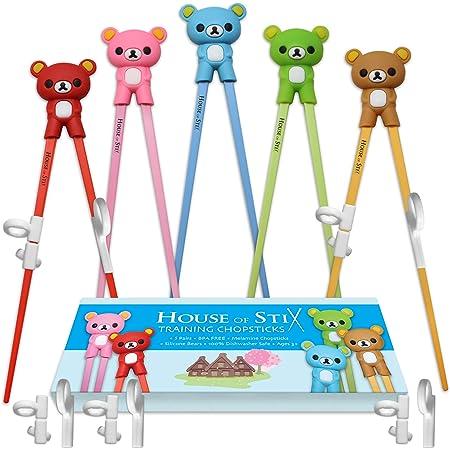 Brand new children kids training helper learning easy use beginner chopstickNWUS