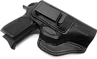 TAGUA Reinforced RH IWB AIWB Concealment Holster Brown Leather S/&W J-FRAME 38