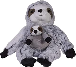 Adorable Mother and Baby Sloth 12 Inch Tall Super Soft Plush Toy Set