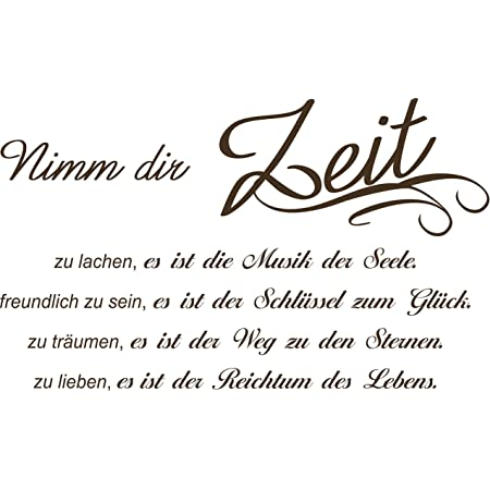 Wandtattoo Spruch  Leben Träume Liebe Glück Wandsticker Wandaufkleber Sticker 3