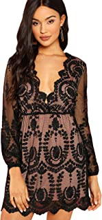 Best revealing black lace dress Reviews