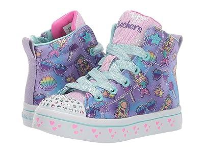 SKECHERS KIDS Twi-Lites-Mermaid Party 20221L (Little Kid/Big Kid) (Lavender/Multi) Girl