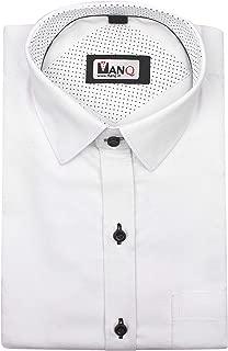 MANQ Men's Solid Slim Fit Formal/Party Shirt - 2 Colors