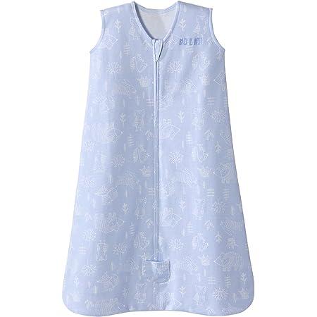HALO Sleepsack Wearable Blanket Cotton Woodland Etch Blue, Size Medium